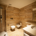 Bagno camere: Family Center Hotel