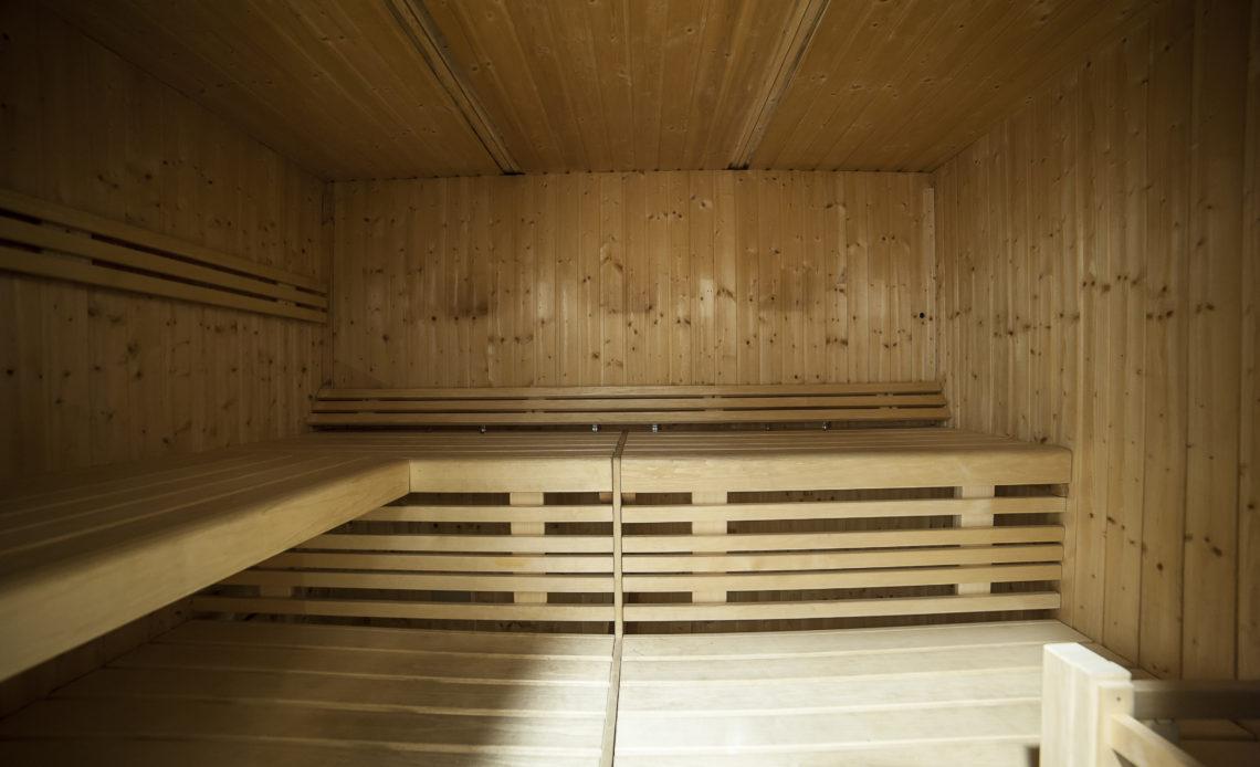 Centro benessere con sauna