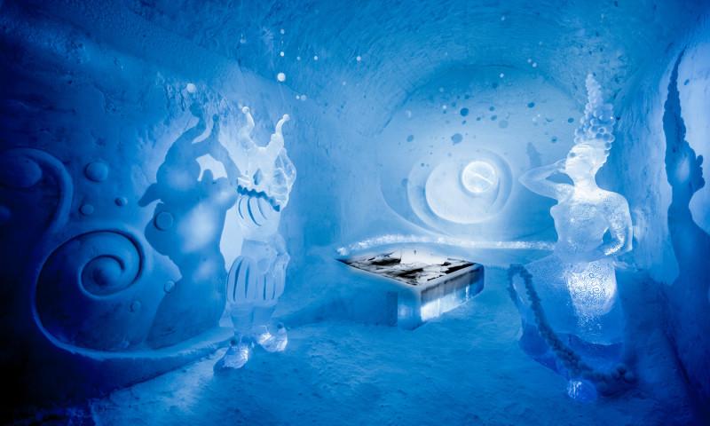 L'Ice Hotel: l'hotel di ghiaccio in Svezia