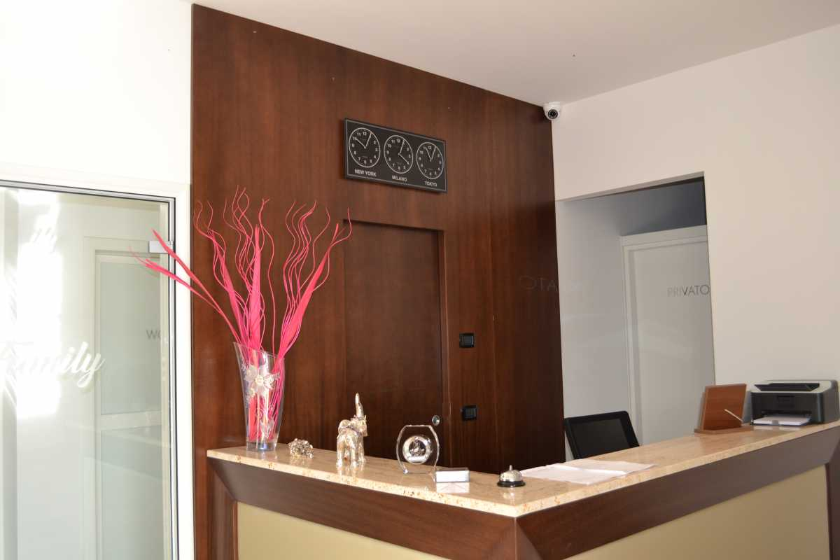 Sale interne: Reception Family Hotel